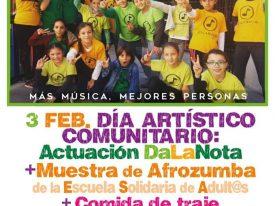 Mañana será el Día Artístico Comunitario de DaLaNota