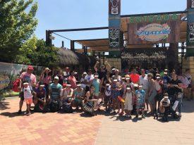Las familias de Fundación Diversitas, de excursión en Aquópolis