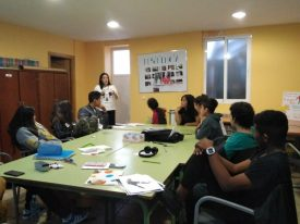 El Colectivo Tetuán-Ventilla lleva a cabo un taller de resiliencia