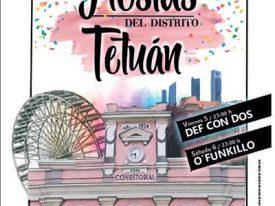 El Colectivo Tetuán-Ventilla pregona las fiestas del distrito