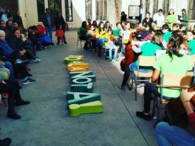 Día Artístico Comunitario en el CEIP Santa María con DaLaNota