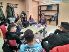 Prevención de drogas y adicciones en el Aula Abierta del Colectivo Tetuán-Ventilla