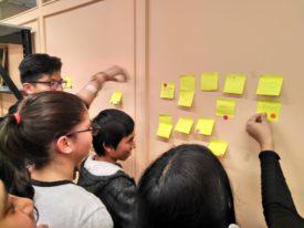 Taller sobre Periodismo en el Colectivo Tetuán-Ventilla