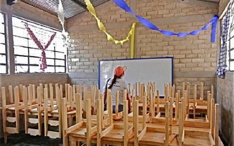 4. Centro Educacional por dentro