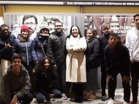 Salida del Colectivo Tetuán-Ventilla al Teatro Pavón Kamikaze